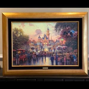 Thomas Kinkade Disney's 50th anniversary